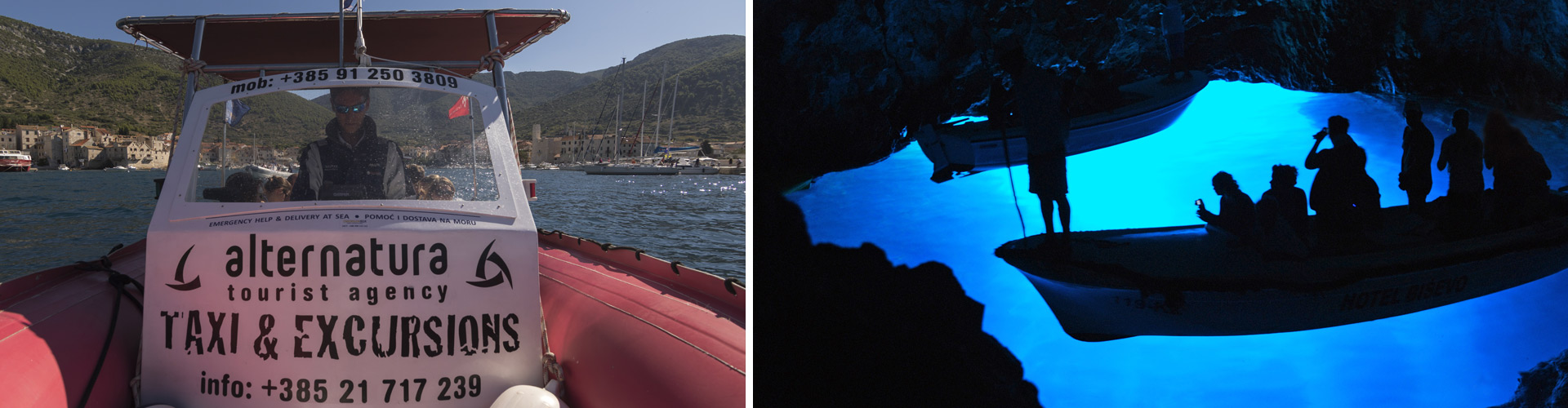 blue cave alternatura - vis - komiza